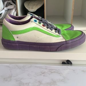 Toy story vans size 8